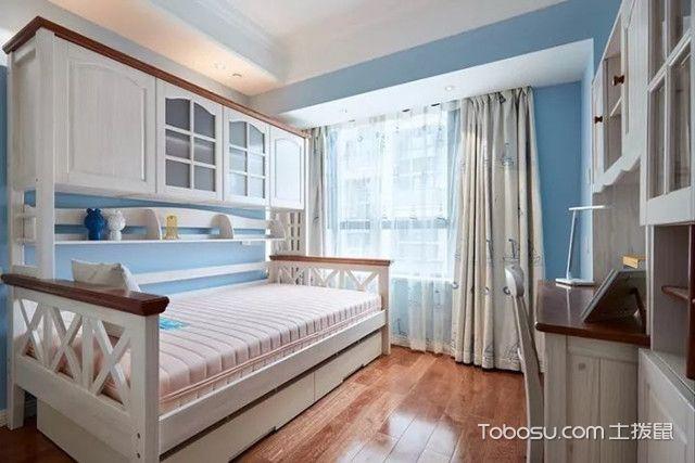 89平现代美式装修图儿童房