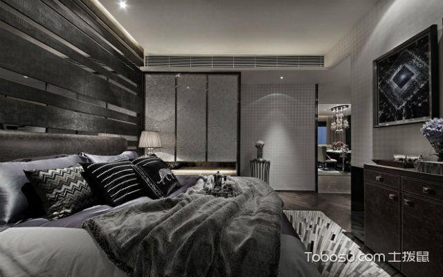 后現代裝修設計理念下的臥室