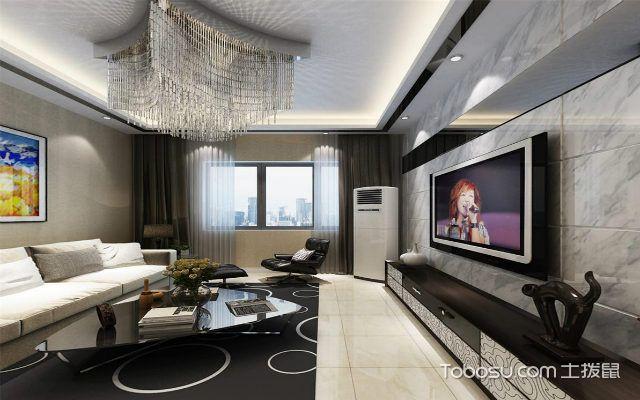 后現代裝修設計理念下的客廳
