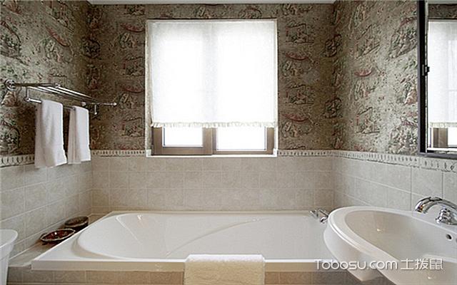 小户型浴室置物架效果图 简约风