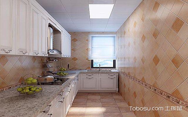 最新欧式厨房吊顶装修效果图 朴素