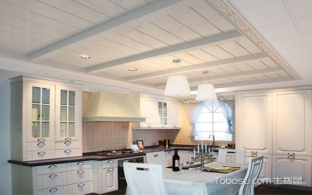 最新欧式厨房吊顶装修效果图 整齐