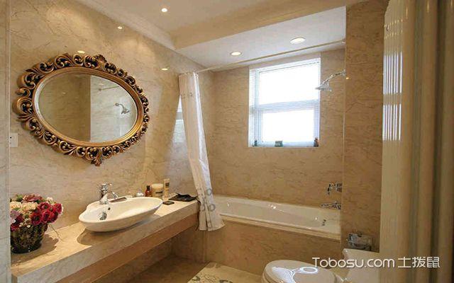 最新欧式别墅浴室装修效果图 生活