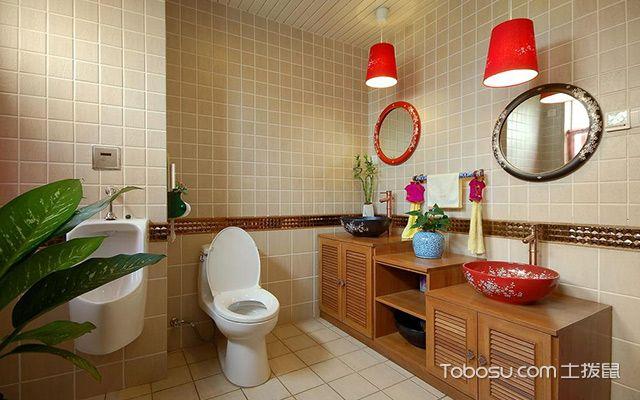 卫生间洗手台怎么选材—木质