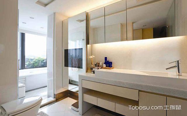 卫生间洗手台怎么选材—陶瓷