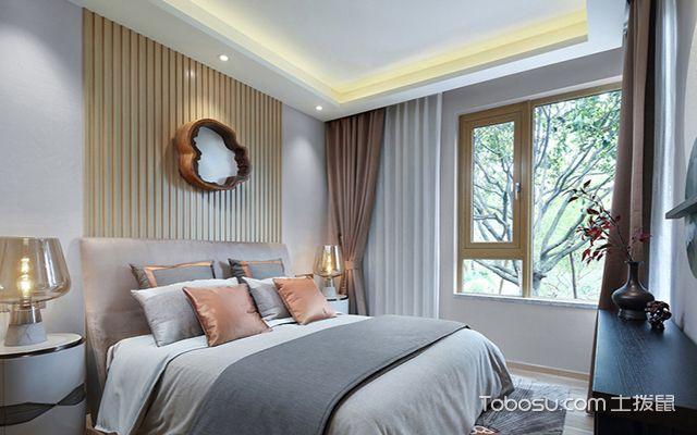 经济型别墅装修设计图之卧室