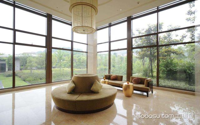 客厅窗户装修案例推荐,客厅全景落地窗效果图欣赏图片