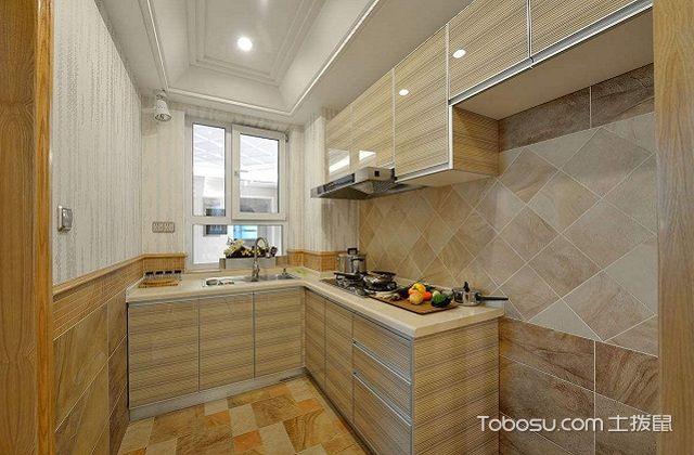 最新小户型厨房吊顶装修效果图之材质