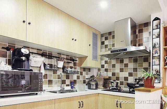 最新小户型厨房吊顶装修效果图之软装