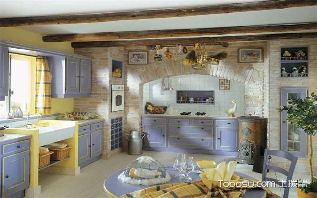 最新美式厨房吊顶装修效果图清新美式