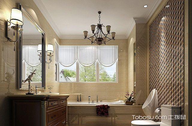 大户型浴室镜装修效果图之金属