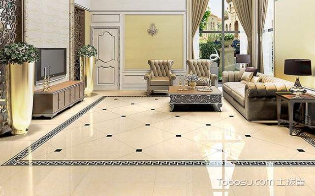 地面铺釉面砖的优缺点之釉面砖与玻化砖的区别