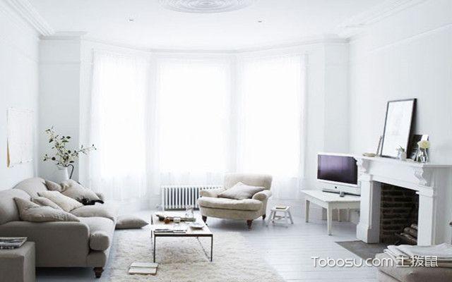 客厅落地飘窗如何装修
