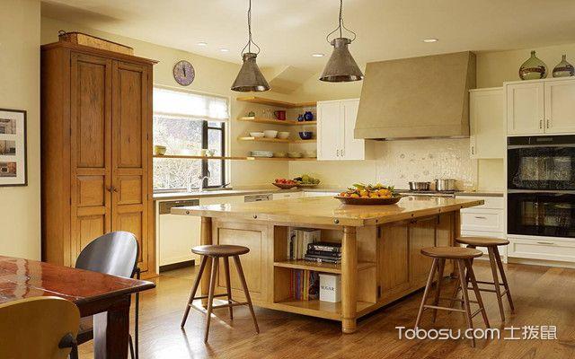 开放式厨房装修风水介绍