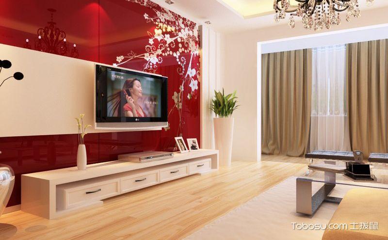美观别致八款家居电视墙装修效果图
