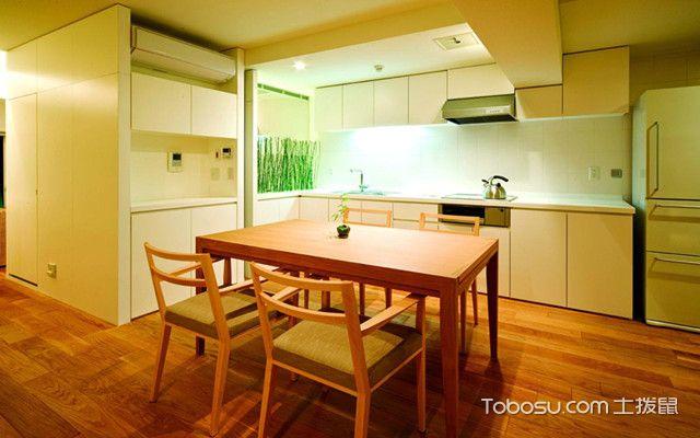 日式厨房装修设计方法