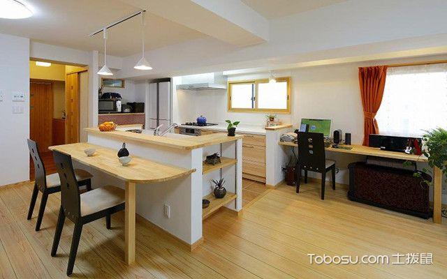 日式厨房装修设计方法盘点