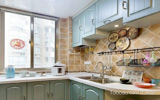 地中海90平米装修案例之厨房