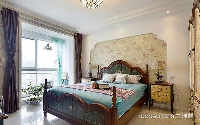 地中海90平米装修案例之卧室