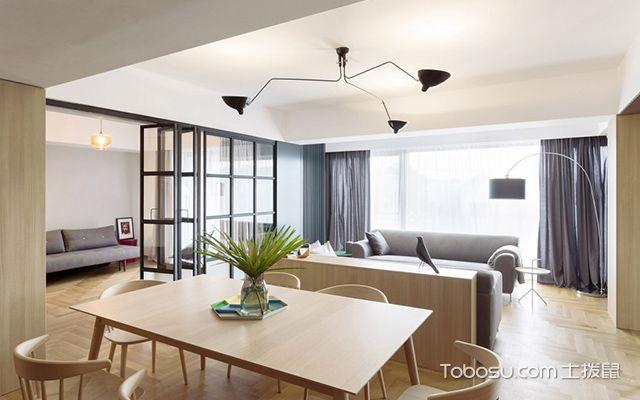 现代简约装修风格的特点是什么—客厅设计图
