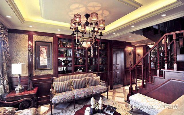 现代美式风格的别墅装修有什么特点之装饰
