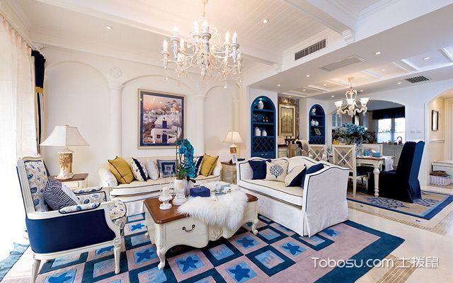 地中海风格客厅特点二:拱形的浪漫