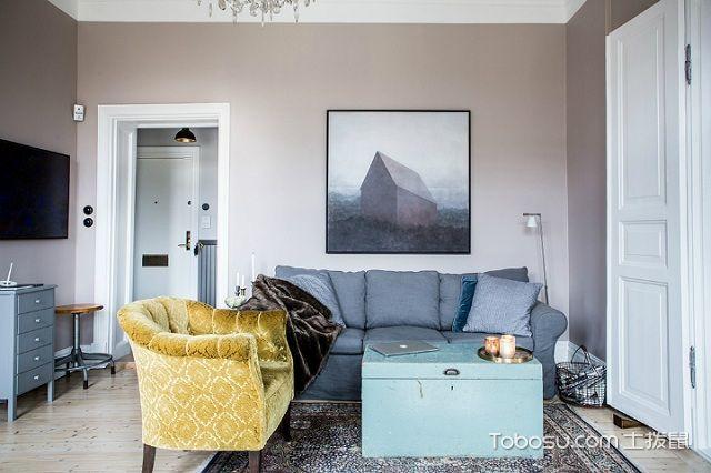 小房间装修简单设计之客厅