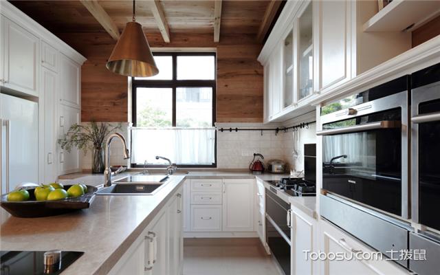 美式风格厨房特点
