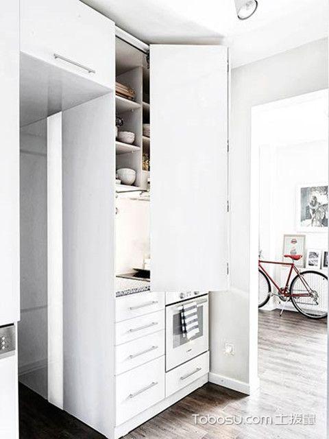 38平小户型厨房图片欣赏