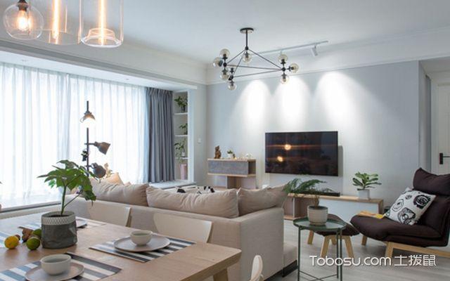 最流行壁龛效果图一:客厅壁龛
