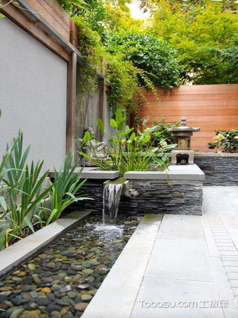 小庭院设计实景图