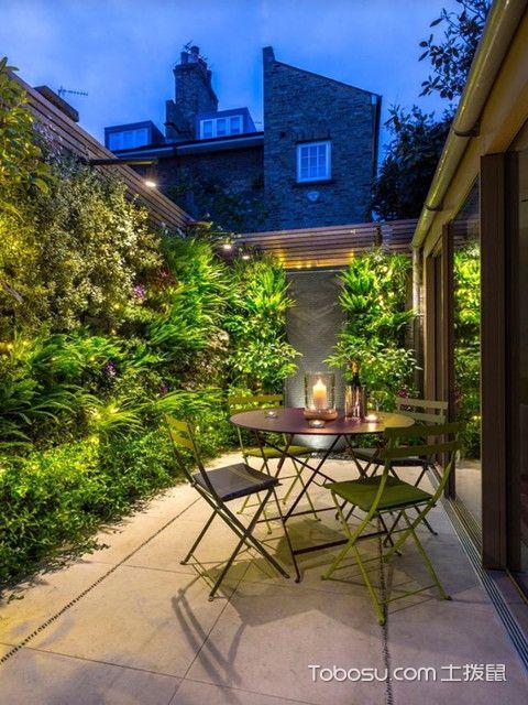 小庭院设计实景图赏析