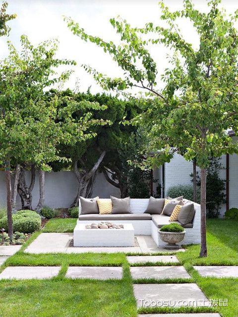小庭院设计实景图案例介绍