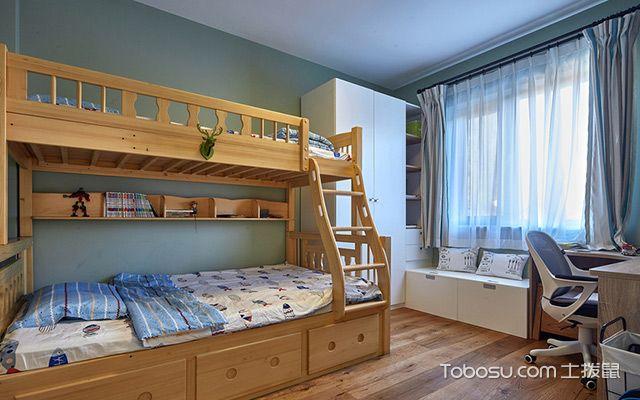 卧室柜子如何摆放——儿童房
