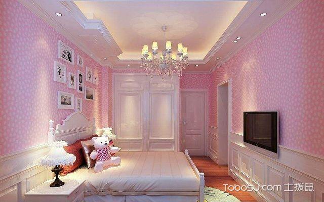 大户型室内装修壁纸搭配之空间