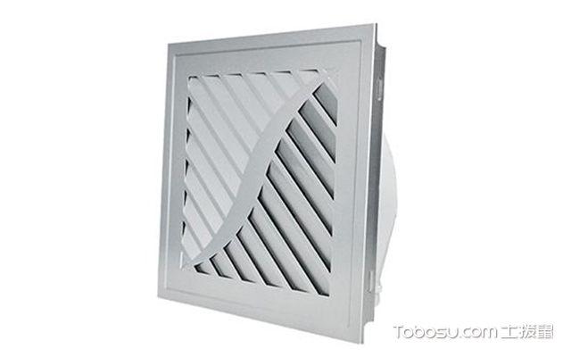卫生间排气扇最常用尺寸—封闭式排气扇