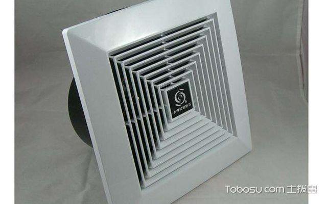卫生间排气扇最常用尺寸—中央空调式排气扇