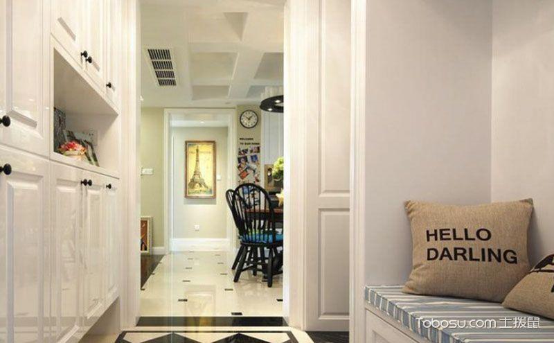 万种风情玄关走廊设计效果图