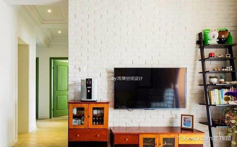 90平米美式风格一室一厅装修设计图片