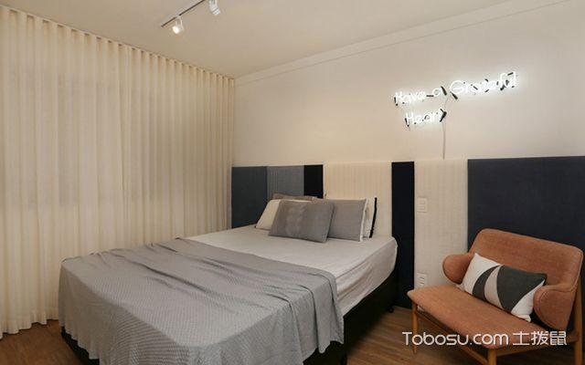 45平米小户型实用装修案例—卧室
