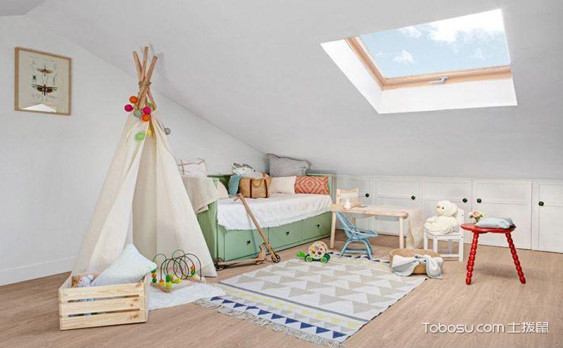 阁楼装饰效果图,创造独特小空间