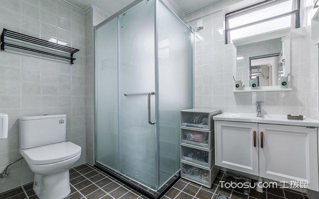 100平米老房装修案例卫生间