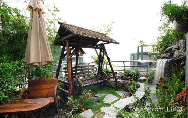 自家小花园设计实景图推荐图片