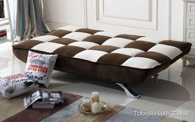 折叠沙发床图片怎么搭配方便
