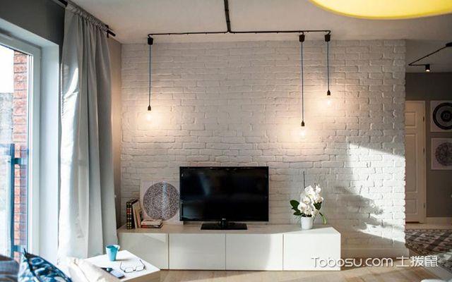 33平米小户型装修案例电视背景墙