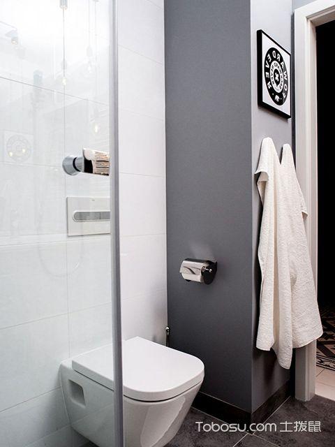 33平米小户型装修案例卫生间