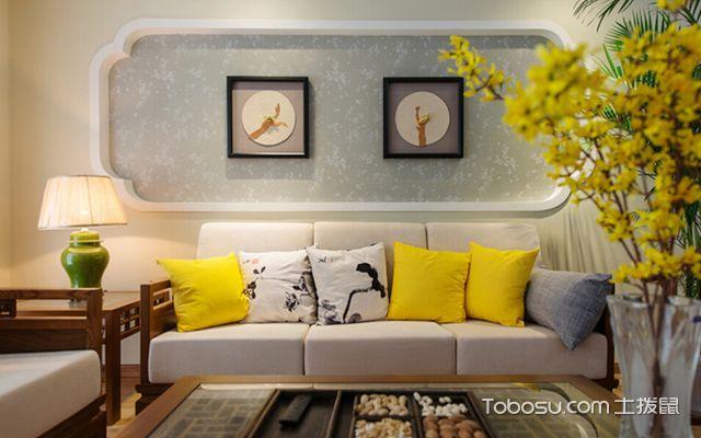 客厅沙发摆放的风水禁忌二:沙发靠墙