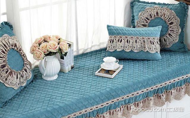 飘窗垫用什么材料好—布艺垫