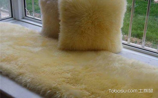 飘窗垫用什么材料好—羊毛垫
