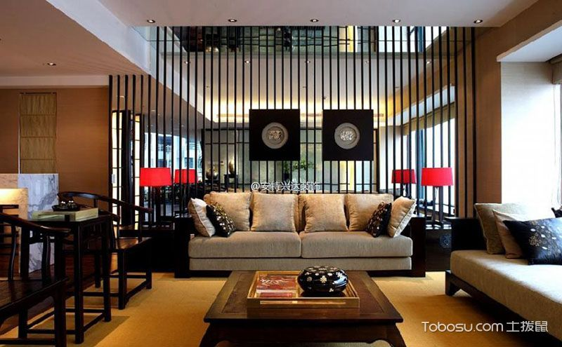 中式客厅隔断设计,合理规划你的家